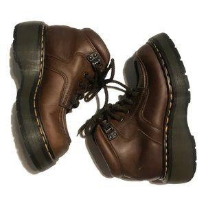 Dr. Martens DM's signature lug sole boot